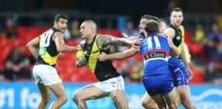 AFL Rd 9 - Western Bulldogs v Richmond