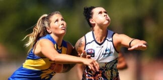 AFLW Rd 1 - West Coast v Adelaide